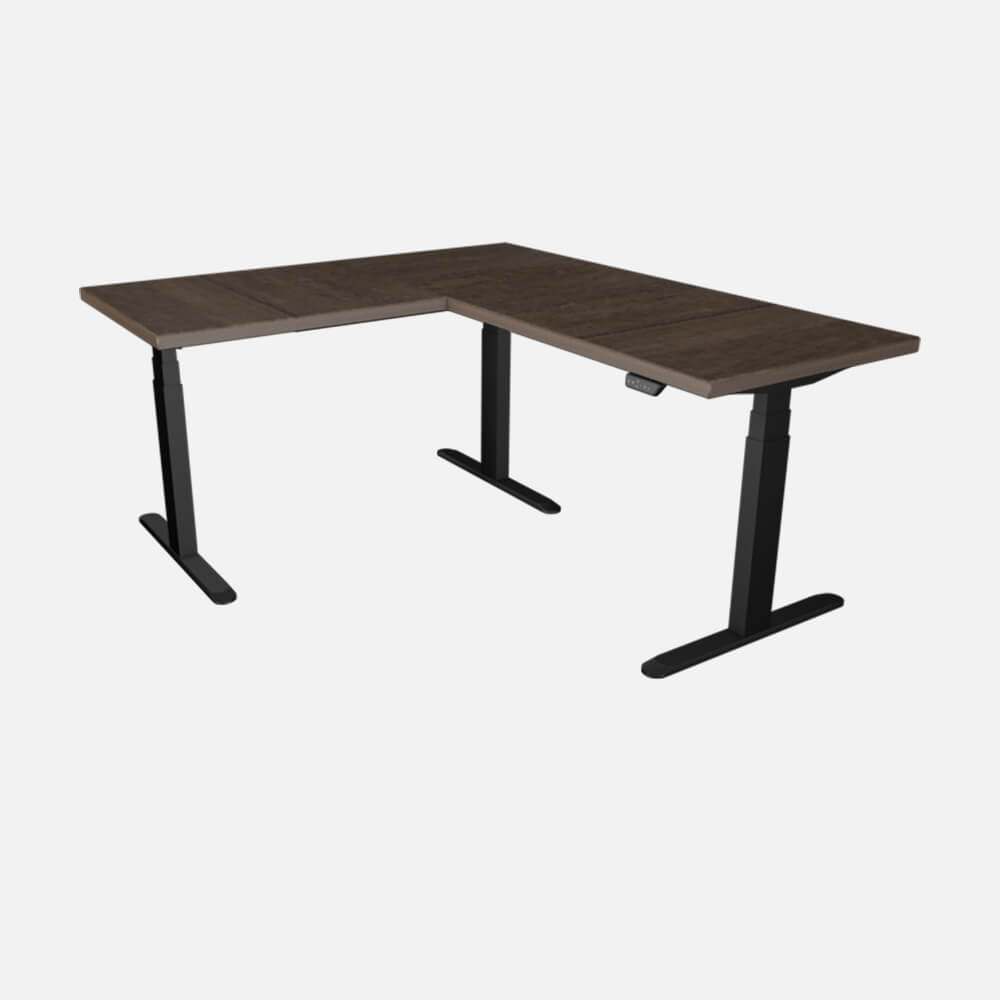 Sit-Stand Corner Desk - From 655 € + TAX